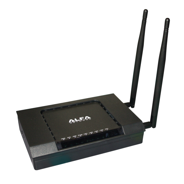 Wireless Access Point Router Highpower Alfa Network AIP-W525H