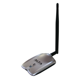 Alfa Network AWUS036H 1000 mW USB Wifi card and antenna 5 dBi
