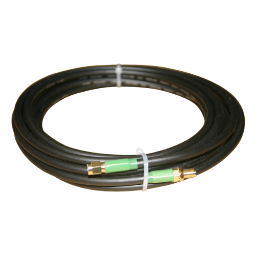 Very low loss coaxial extension